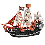 #1: Deluxe Detailed Toy Pirate Ship