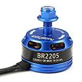 Racerstar Racing Edition 2205 BR2205 2300KV 2-4S Brushless Motor Dark Blue For 220 250 280 RC Drone FPV Racing