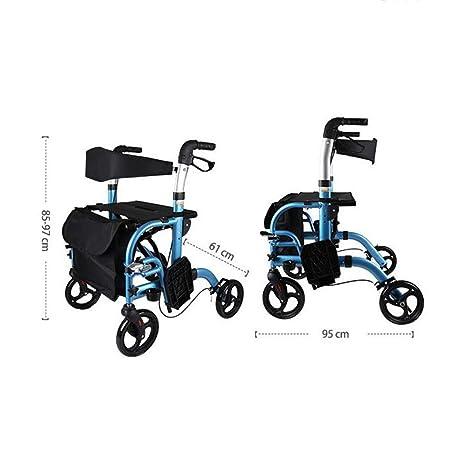 MMUY-1 Andador Multifuncional, Plegable y Ajustable, para ...