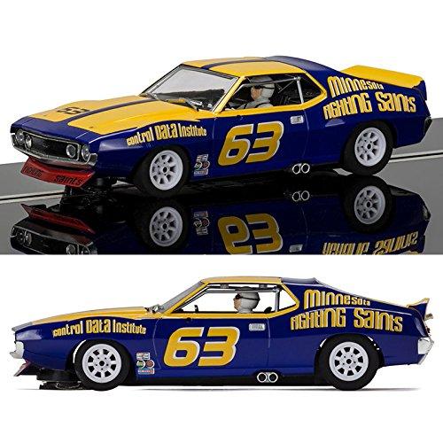 Amc Javelin - Scalextric AMC Javelin Trans Am Jockos Racing Minnesota Fighting Saints 1:32 Slot Race Car C3876