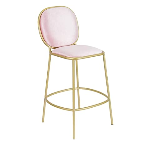 At Home Kitchen Chairs.Amazon Com Mmli Barstools Bar Stools With Height Footrest Backrest