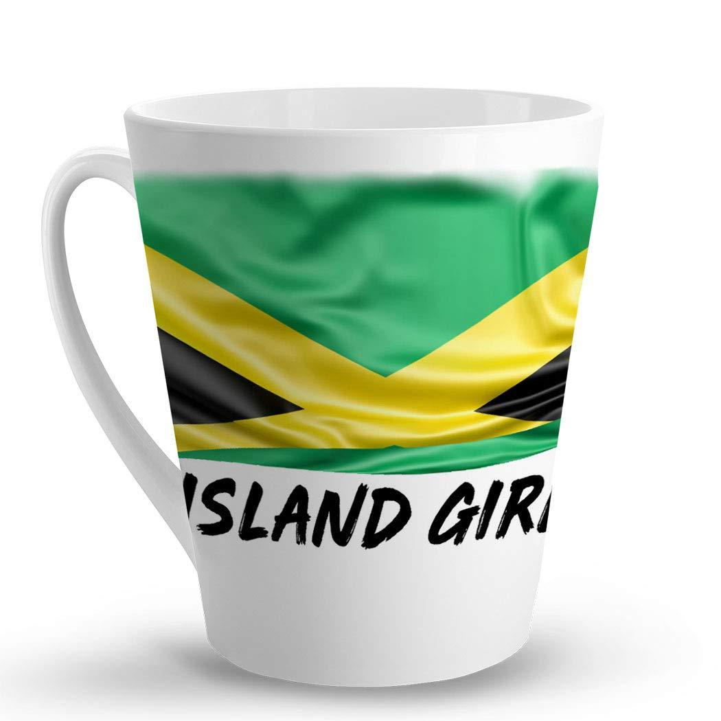 Amazon.com: Makoroni - ISLAND GIRL Jamaican Jamaica Flag ...