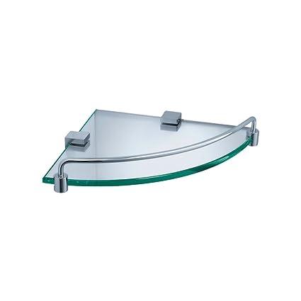 Fresca Bath FAC0448 Ottimo Corner Glass Shelf, Chrome - Corner ...