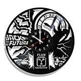 Back to the Future wall clock made from real vinyl record, Back to the Future wall poster, Back to the Future decal For Sale