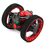 Gotd SJ88 2.4GHz RC Bounce Car Racing Shock Resistance Flexible Wheels Speed Switch, Black