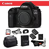 Canon EOS 5D Mark IV Full Frame Digital SLR Camera Body Bundle 32GB Memory Card International Version