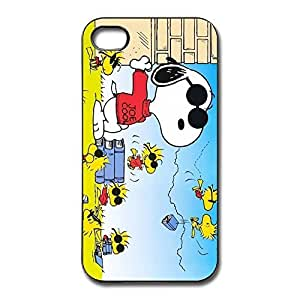 Peanuts Charlie Brown Snoopy Bumper Case Cover For IPhone 4/4s - Art Case