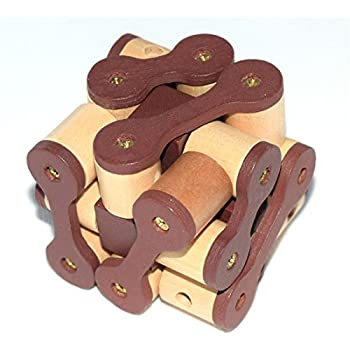 phantomsky 3d wooden brain teaser puzzle