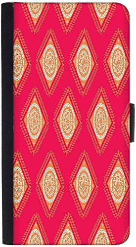 Snoogg Wallet Tasche Flip Case Sleeve Folio Book Cover mit Kreditkarte Slots, Cash Tasche, Ständer, Magnetverschluss, Schwarz für LG G3Vigor