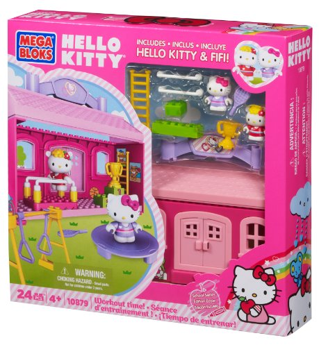 Mega Bloks Hello Kitty Workout Time
