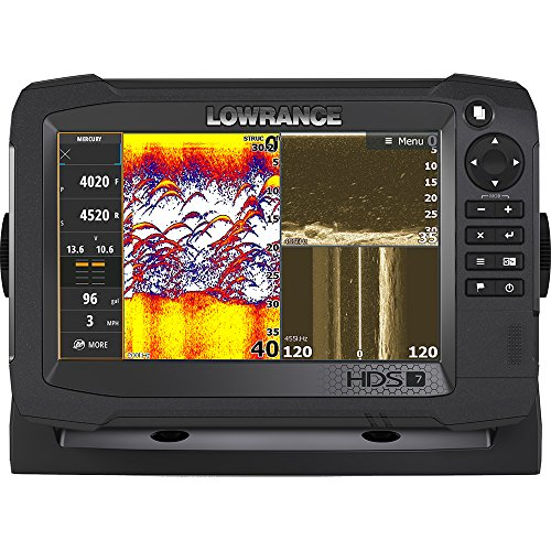Lowrance HDS-7 Carbon, Basemap, without Xdcr