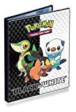 Pokemon CCG: Black & White 4-Pocket Portfolio (Series 5) - Combo Album (Pokemon Trading Card Album / Binder) Snivy, Tepig & Oshawott