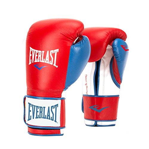 Everlast PowerLock Training Glove Red/Blu PowerLock Training Gove, Red/Blue, 16 oz