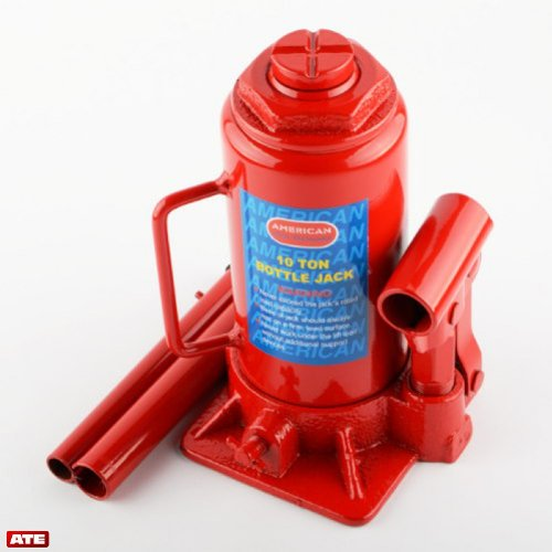 10 Ton Hydraulic Bottle Jack by ATE Pro. USA