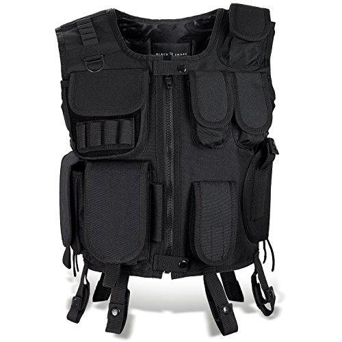 Agenten Kostüm Einsatzweste und Cap FBI, SECURITY, POLICE SECURITY