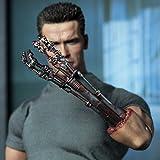Terminator 2 Judgement Day Hot Toys Movie Masterpiece 1/6 Scale Collectible Figure T800 Arnold Schwarzenegger
