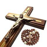 Handmade Crucifix Wall Cross - Wooden Catholic