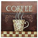 Barnyard Designs Roasted Coffee Retro Vintage Tin Bar Sign Country Home Decor 11″ x 11″ Review