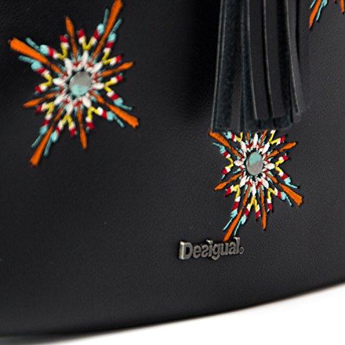 femme bandoulière Desigual pour Multicolore Sac tOwR60Fx