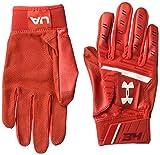 Under Armour Boys' Men's Harper Hustle Baseball Gloves, Red (600)/White, Large