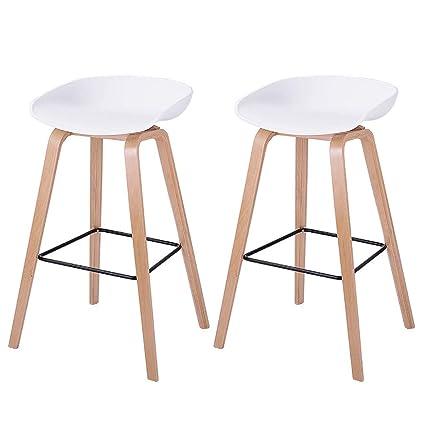Amazon Com Nyjs Bar Stool Bar Chair Wooden Bar Stool Wooden