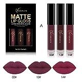 Best Lipsticks - DZT1968 3PCS 6ml New Fashion Waterproof non-marking non-fade Review