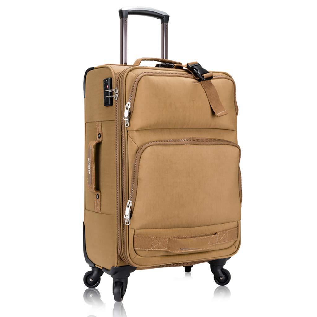 20インチのトローリーケースユニバーサルホイール24インチスーツケース28インチスーツケース男性パスワードソフトボックス女性を搭乗 (色 : A, サイズ さいず : 20inch) B07HCYGW71 A 20inch