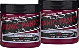 Manic Panic Hot Hot Pink Hair Dye Color - 2 pack