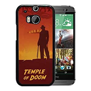 Temple Of Doom Durable High Quality HTC ONE M8 Phone Case