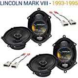 Fits Lincoln Mark VIII 1993-1995 Factory Speaker Replacement Harmony (2) R68 Package