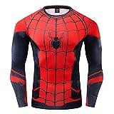 GYm GaLa Spiderman Men's 3D Printed Compression