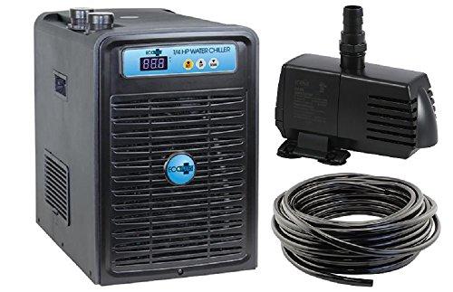 Ecoplus 1/4 HP Chiller + 396GPH Water Pump + 3/4