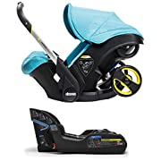 Doona Infant Car Seat & Latch Base – Sky (Turquoise) – US Version