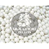 Bulldog BB - Lote de balines de airsoft (2000 unidades, 6 mm, 20 g), color blanco