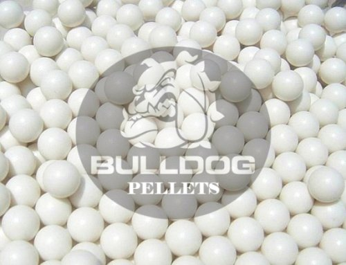 2000 Airsoft BB Pellets 6mm .20g Genuine Bulldog Pro High-Grade Polished BB's White 1