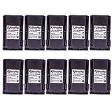 10 Pack Maxtop AICL0232-2000-D BP-230/231 BP-232N Battery for ICOM IC-F4029SDR IC-F4061 IC-F4062 IC-F4162 IC-F3062