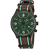 Brooklyn Watch Co. Bedford Brownstone Chronograph Mens Watch