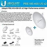 Ubiquiti PBE-M5-400 (2-pack) PowerBeam M5 25dBi