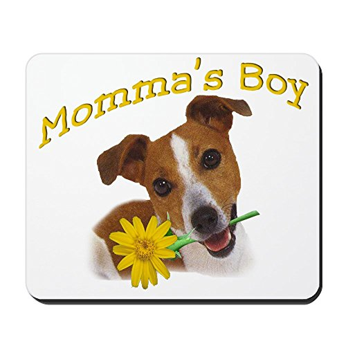 CafePress Jack Russell Momma's Boy Non-Slip Rubber Mousepad, Gaming Mouse Pad