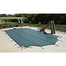 Arctic Armor Mesh Rectangular Safety Cover for 25ft x 45ft In-Ground Pools with 12-Year Warranty