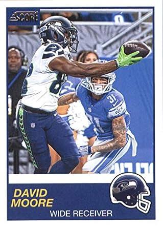 huge selection of 82331 318c7 Amazon.com: 2019 Score #322 David Moore Seattle Seahawks ...