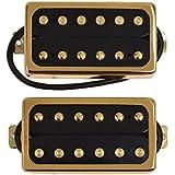 Kmise 7 String Guitar Pickup Set Double Coil Humbucker White Pair Of 1 (MI0676)