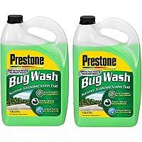 $39 » Prestone AS657 Bug Wash Windshield Washer Fluid, 1 Gallon (Pack of 2)
