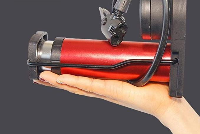 LingLing Kettenpumpen f/ür Fahrr/äder Pedalpumpe Hochdruck tragbare Mini-Mountainbike///Auto Motorrad Auto nach Hause Fu/ßpumpe-Blaue Fahrradpumpe