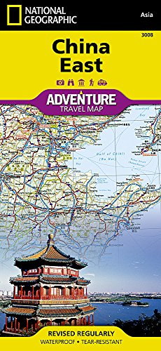 China East (National Geographic Adventure Map)...
