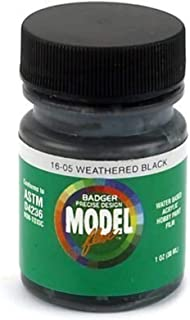 product image for Badger Airbrush Weathered Black, 1 oz
