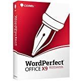 Corel Wordperfect Office X9 All-in-One Office Suite - Professional Edition [PC Disc]