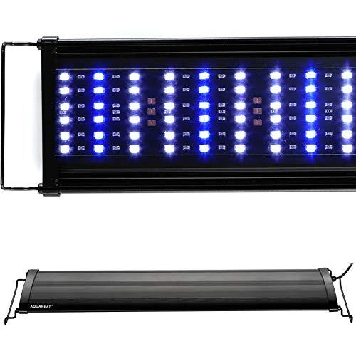 "Aquaneat LED Aquarium Light Marine Light for 24""-30"" Saltwater Planted Tank Blue & White"
