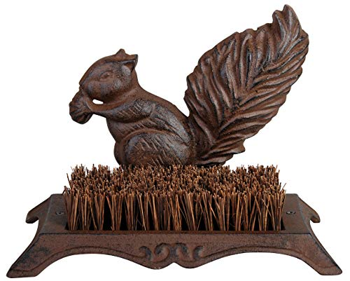 Boot Hedgehog Brush - Esschert Design Boot Brush Squirrel