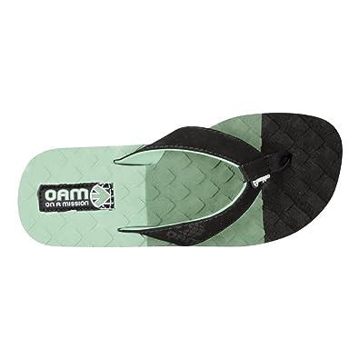 Amazon.com | cobian Men's Oam Traction Pad Flip Flop, Olive, 8 M US |  Sandals